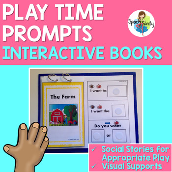 Playtime Prompts: Interactive Social Stories - Farm, Zoo, & Ocean