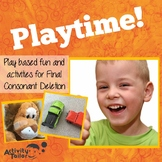 Final Consonant Deletion Playtime Activities