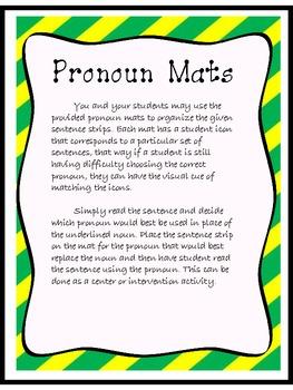 Playtime with Pronouns: A Common Core Aligned Pronoun Lesson/Activity