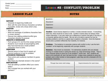 Playwrighting Skills via Creative Drama, PART 1
