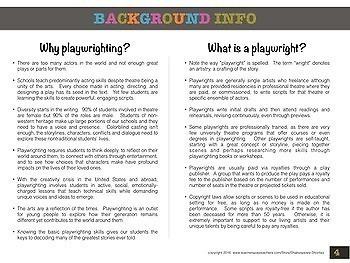 Playwrighting Skills via Creative Drama, Parts 1 & 2 BUNDLE