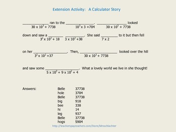 Order of Operations with Exponents