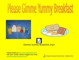 Healthy Breakfast Song (and activities)