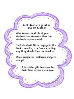 Please Hire- gift idea for student teacher