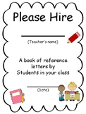 Please Hire- gift idea for student teacher