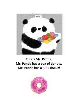 Please Mr. Panda Adapted Book