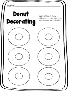 Please Mr. Panda - Donut Decorating (Extension/Warm Up)