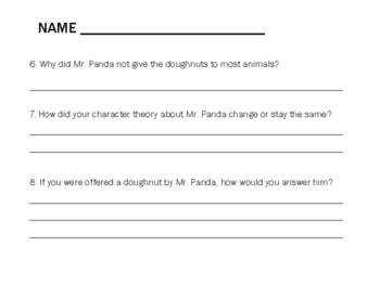 Please, Mr. Panda Mini lesson Unit