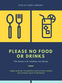 Please No Food or Drinks