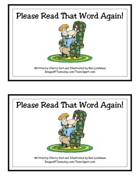 Please Read That Word Again! Guided Reader (-ead Word Family)