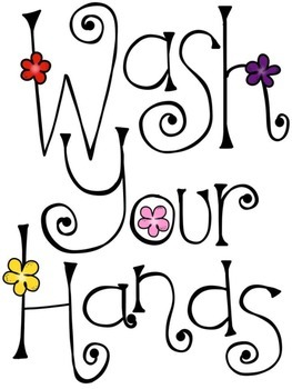 Please Wash Your Hands Restroom Passes & Signs! FREE