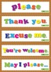 Please and Thank You Signs – Individual Posters