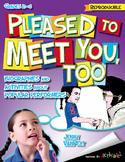 Pleased to Meet You, Too: Yo Yo Ma