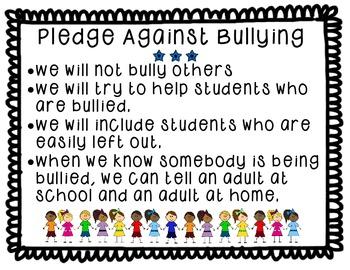 Pledge Against Bullying