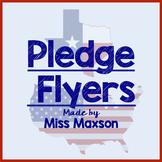 Pledge Flyers