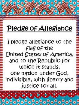 Pledge Posters