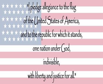 FREE Pledge of Allegiance