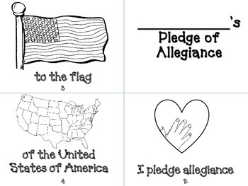 Pledge of Allegiance Book