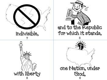 Pledge of Allegiance Book