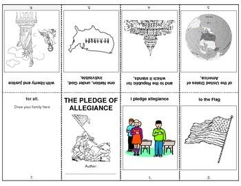 Pledge of Allegiance Booklet