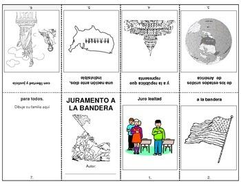 PLEDGE OF ALLEGIANCE - Booklet in Spanish