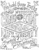 Pledge of Allegiance Coloring Page, Declaration of Indepen