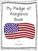 Pledge of Allegiance Emergent Reader and Pocket Chart Activity