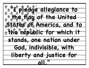 Pledge of Allegiance (English/Spanish)