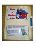 Pledge of Allegiance: File Folder