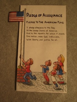 Pledge of Allegiance Flag Project. Fun Craft Art