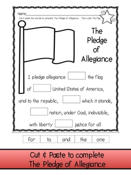 Meaning Of The Pledge Of Allegiance Worksheet Worksheets for all ...