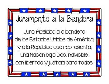 Pledge of Allegiance / Juramento a la Bandera
