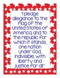Pledge of Allegiance Mini-Poster