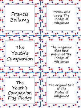 The Pledge of Allegiance and U.S. Flag Code Activity Bundle