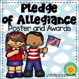 Pledge of Allegiance Poster & Awards