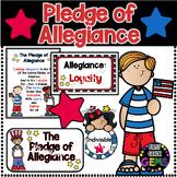Pledge of Allegiance Poster/Worksheet Pack