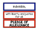 *FREEBIE* Pledge of Allegiance Printable