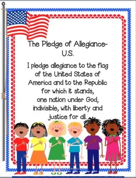 Pledge of Allegiance-U.S.