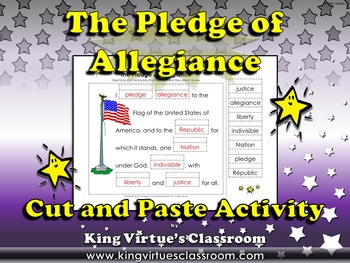 Pledge of Allegiance: United States National Pledge to the