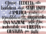 Pledge of Allegiance in Italian