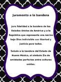 Spanish. Juramento a la Bandera. Pledge of Allegiance.
