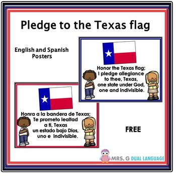 picture regarding Texas Pledge Printable called Texas Pledge Of Allegiance Worksheets Instruction Elements TpT