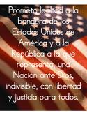 Pledge of Allegience in Spanish