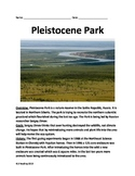 Pleistocene Park - Dinosaurs Siberia Review Article Questions Vocabulary