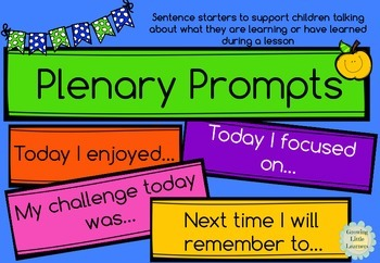 Plenary Prompts