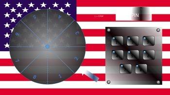 Plenary spinner (USA THEMED)