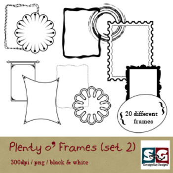 Plenty o' FRAMES set 02