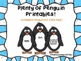 Plenty of Penguin Printables! A Complete Penguin Unit in 1 Pack!