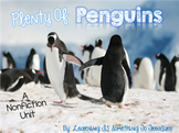 Plenty of Penguins: A Non-Fiction Unit on 10 Different Species of Penguins!