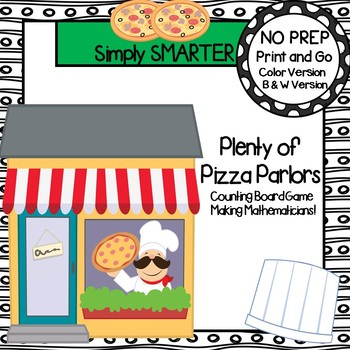 Plenty of Pizza Parlors:  NO PREP Community Themed Countin